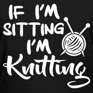 knitting 290120930193123.png T-Shirts - Women's T-Shirt