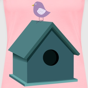 Bird house - Women's Premium T-Shirt
