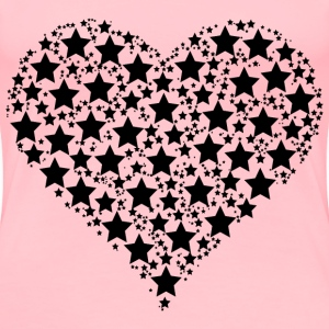 Heart Stars - Women's Premium T-Shirt