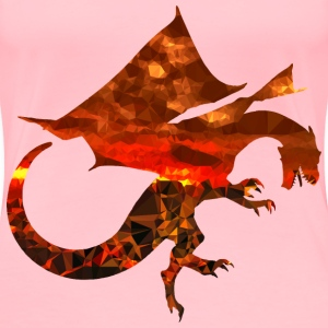 Magma Dragon - Women's Premium T-Shirt