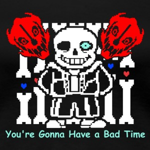 Undertale_Sans_Bad_Time - Women's Premium T-Shirt
