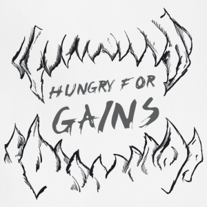 Hungry for Gains - Adjustable Apron