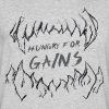 Hungry for Gains - Men's 50/50 T-Shirt