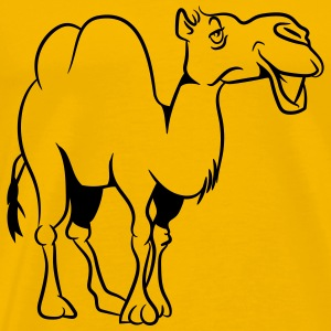 Camel loving T-Shirts - Men's Premium T-Shirt