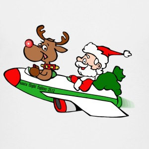 Santa Flight Fighter - Kids' Premium T-Shirt