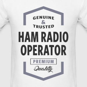 HAM Radio Operator Logo Tees - Men's T-Shirt