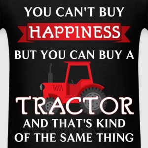 Tractor Driver - You can't buy happiness but you c - Men's T-Shirt