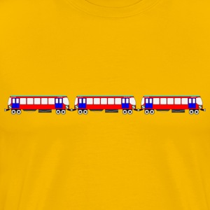 SBahn Train - Men's Premium T-Shirt