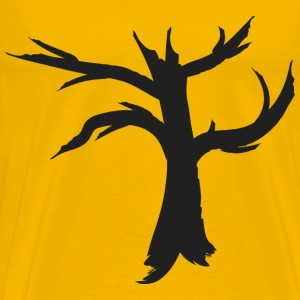 Dead Tree Silhouette - Men's Premium T-Shirt