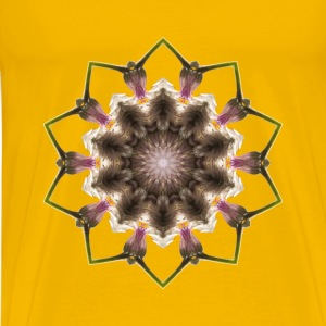 Wildflower kaleidoscope 8 - Men's Premium T-Shirt