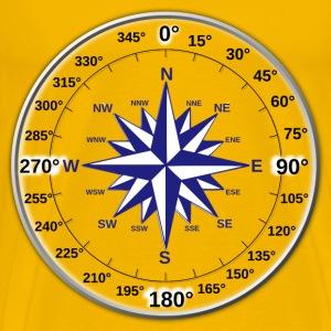 Dual Compass Rose - Men's Premium T-Shirt