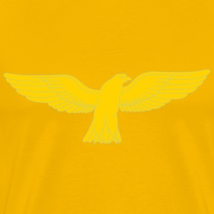 Golden gashawk - Men's Premium T-Shirt