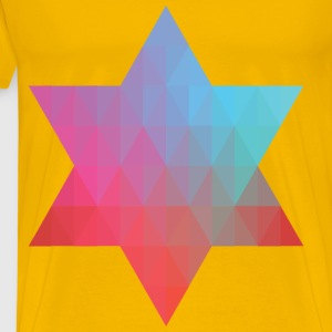 Geometric Star V - Men's Premium T-Shirt