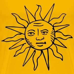 Blazing sun 7 - Men's Premium T-Shirt