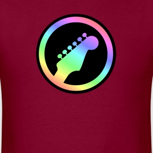 Electric Guitar Colorful - Men's T-Shirt