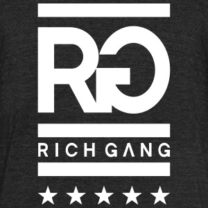 Rich Gang - Unisex Tri-Blend T-Shirt by American Apparel