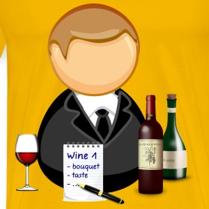 Sommelier / wine steward - Men's Premium T-Shirt