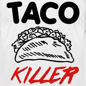 Taco Killer T-Shirts - Men's T-Shirt by American Apparel