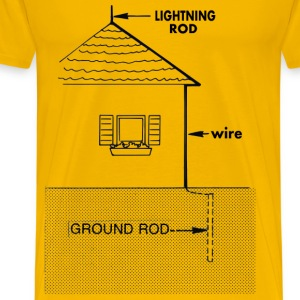 Lightning rod - Men's Premium T-Shirt