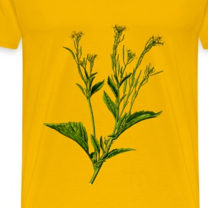 Mustard greens (detailed) - Men's Premium T-Shirt