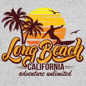 Long Beach T-Shirts - Men's 50/50 T-Shirt