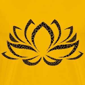 Lotus Flower Circles - Men's Premium T-Shirt