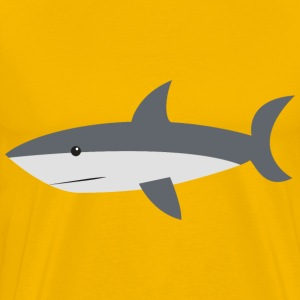 Cartoon Shark - Men's Premium T-Shirt