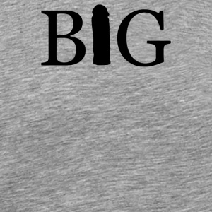 adult mens funny big penis - Men's Premium T-Shirt