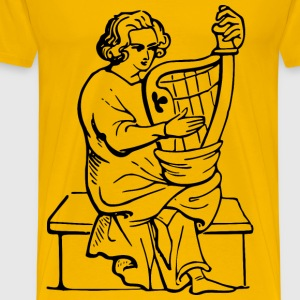 Harpist - Men's Premium T-Shirt