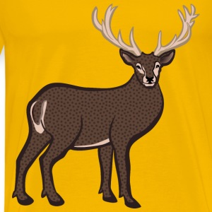deer coloured - Men's Premium T-Shirt