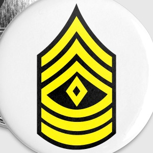 army military button rank FIRST SERGEANT - Small Buttons