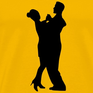 Dancing couple 12 - Men's Premium T-Shirt
