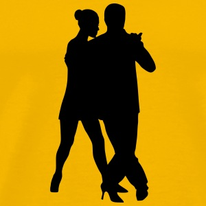 Dancing couple 22 - Men's Premium T-Shirt