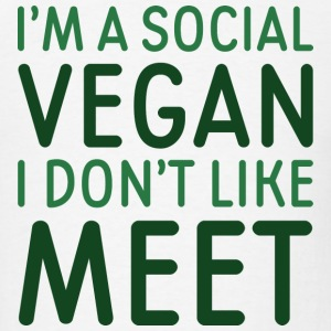 Social Vegan - Men's T-Shirt