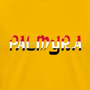 Palmyra Typography Enhanced 3 - Men's Premium T-Shirt