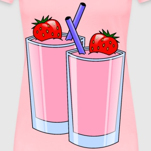 strawberry smoothie - Women's Premium T-Shirt
