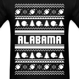 Alabama Fan - Ugly Christmas Sweater - Men's T-Shirt