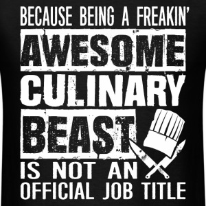 Chef - Awsome culinary beast chef - Men's T-Shirt