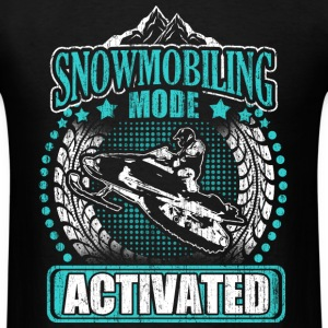 Snowmobiling mode - Activated - Men's T-Shirt