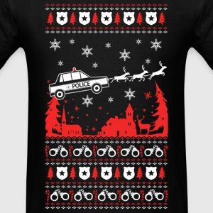 Police - Police officer Ugly Christmas Sweater - Men's T-Shirt