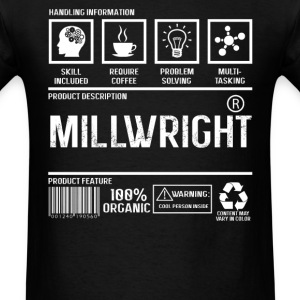 Millwright - Handling information - Men's T-Shirt