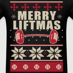 Bodybuilder Ugly Christmas Sweater - Men's T-Shirt