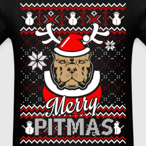 Pitmas - Ugly Christmas Sweater - Men's T-Shirt