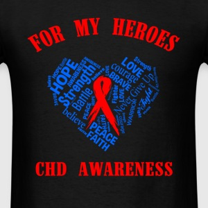 For my heroes CHD awareness - Men's T-Shirt
