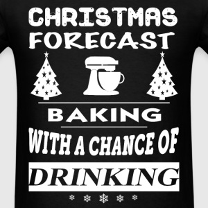 Baking - Christmas forecast awesome sweater - Men's T-Shirt