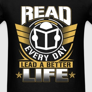 National librarian week - Read every day t-shirt - Men's T-Shirt