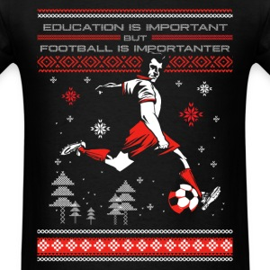 Football - Ugly Christmas Sweater - Men's T-Shirt