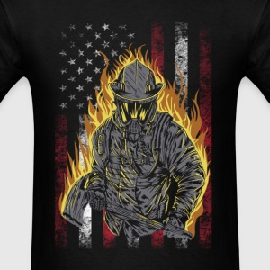 Firefighter - Awesome t-shirt for american lover - Men's T-Shirt
