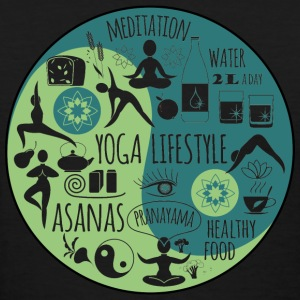 Yoga - Healthy Yoga lifestyle t-shirt for lover - Women's T-Shirt
