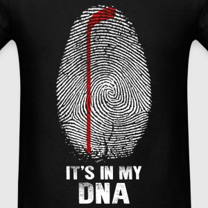 Hockey - Hockey in my DNA t-shirt - Men's T-Shirt